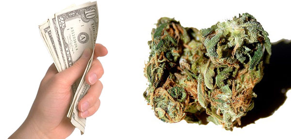 How much does weed cost in India?